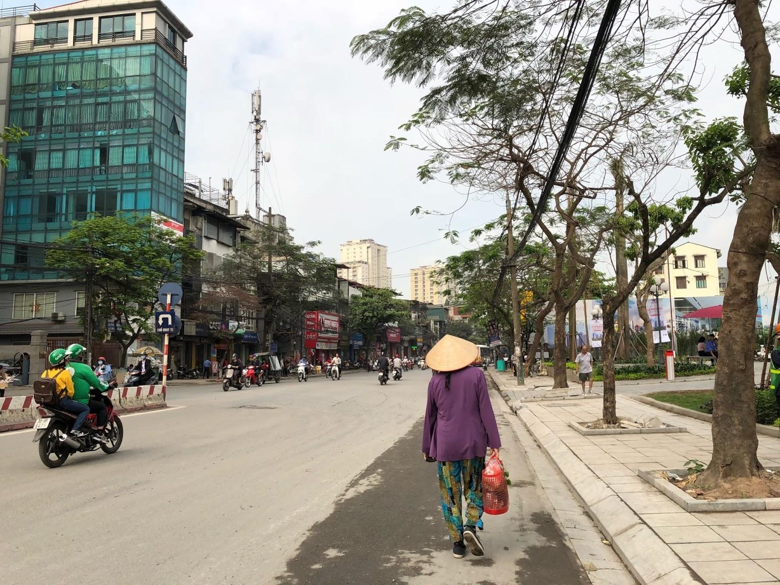 Tuyền đường Minh Khai mặt tiền dự án Minh Khai City