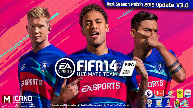 FIFA 14 Next Season Patch 2019 Update V3 0 - Released 04 08 2018