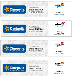 Boletos cinepolis