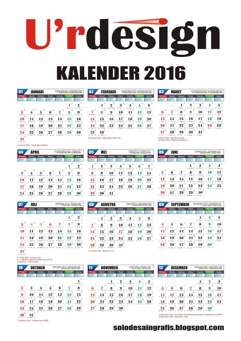 Kalender 2017 Indonesia Cdr : kalender, indonesia, Archivos, Biosols