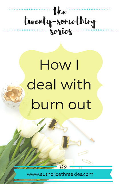 Being busy is great, but it does bring the risk of getting burnt out. In this post, I talk about how I recognise burn out in me and how I deal with it.