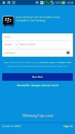 BBM3 cara install bbm via google play