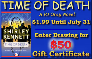 $50 Giveaway for Time of Death