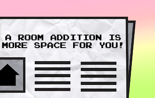 A room addition means more space