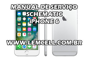 Esquema Elétrico Smartphone Celular Apple iPhone 6 Manual de Serviço Service Manual schematic Diagram Cell Phone Smartphone Apple iPhone 6