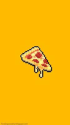 fondo de pantalla pizza