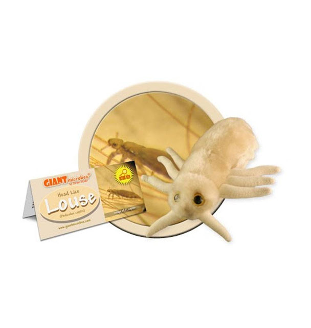 giant microbes lice