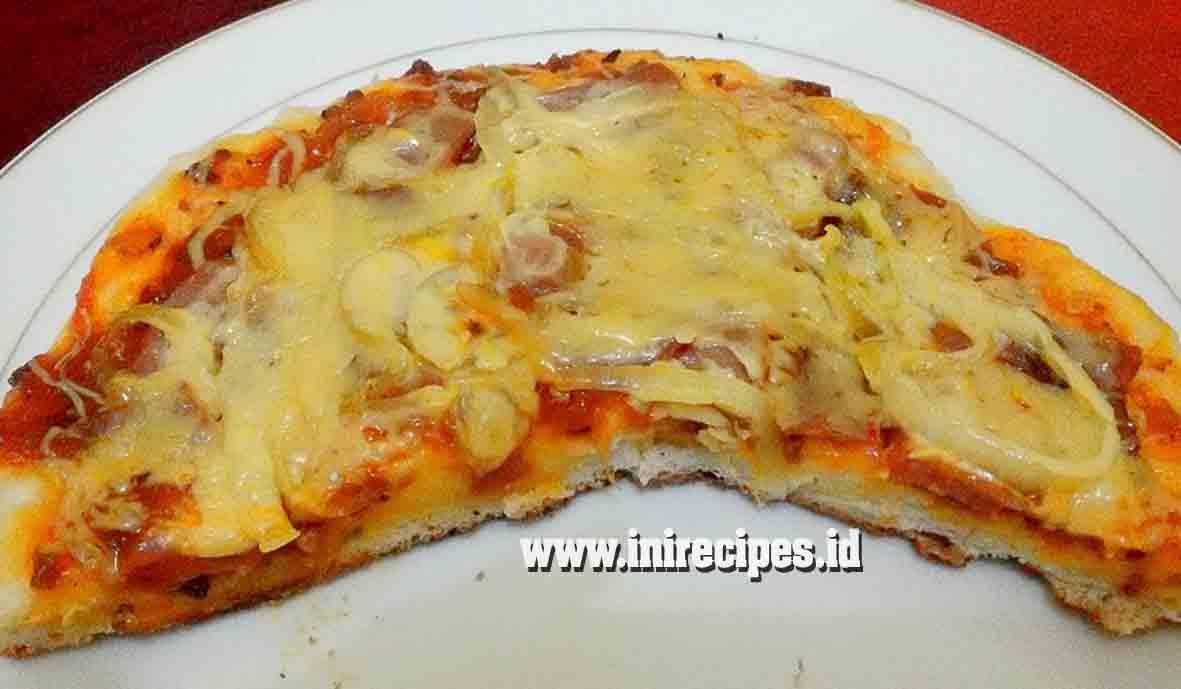 Cara Membuat Pizza Teflon Anti Gagal. Lebih Hemat dan Enak