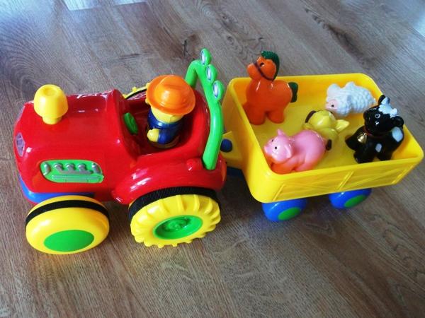 prezent na roczek dla roczniaka - arka dumel traktor