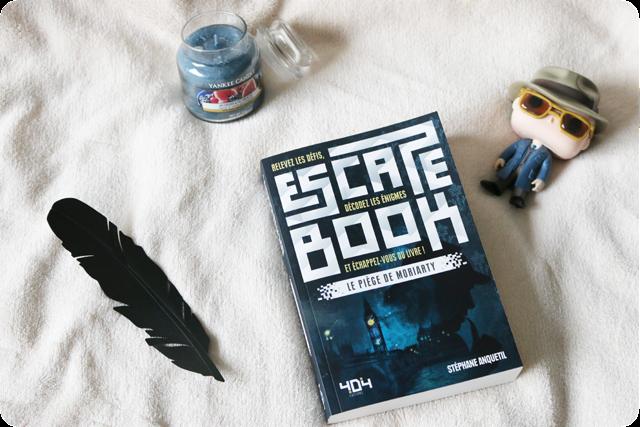 Escape Book : Le Piège de Moriarty de Stéphane Anquetil