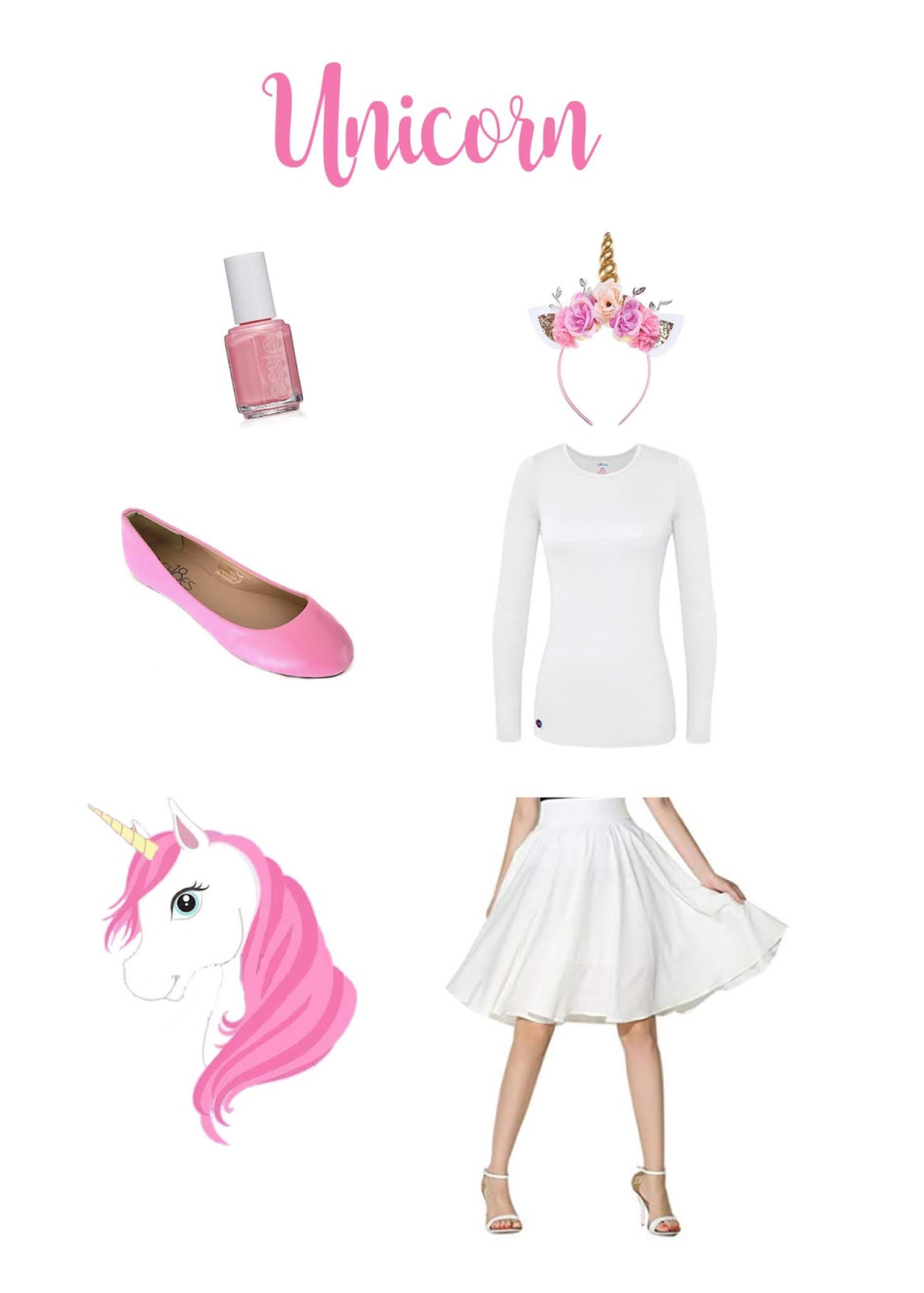 Easy DIY Adult Unicorn Costume by The Celebration Stylist