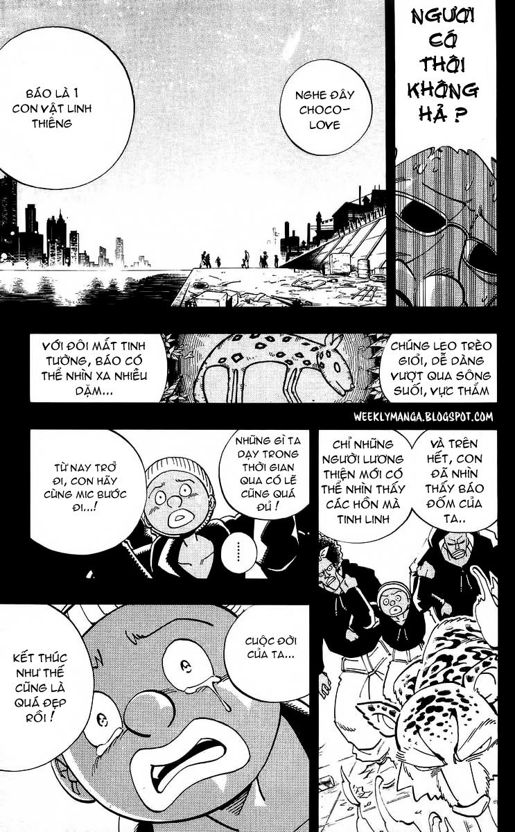 Shaman King [Vua pháp thuật] chap 117 trang 18
