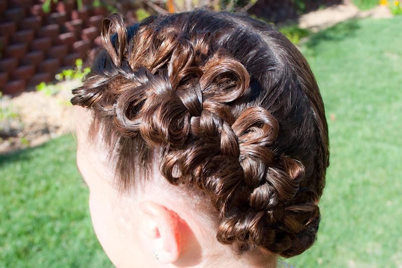Marvelous Princess Piggies The Bow Braid Hairstyles For Women Draintrainus