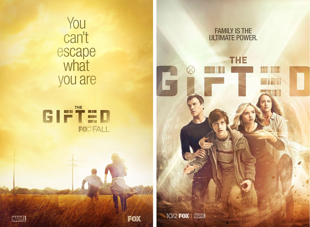 Marvels The Gifted X Men Television Series One Sheet Teaser Posters