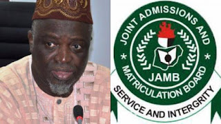 JAMB Boss says The UTME Won't Be Affected by INEC elections come 2019