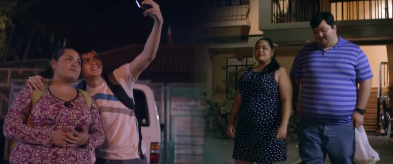 Ang Taba Ko Kasi 2016 CineFilipino Film Festival entry about a love story of a fat woman falling in love with a physically fit man Cai Cortez, Ryan Yllana, and Mark Neumann love triangle