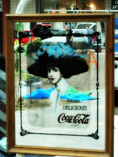 Espelho da Coca Cola, Feira de Antiguidades da Praça Daltro Filho - Porto Alegre