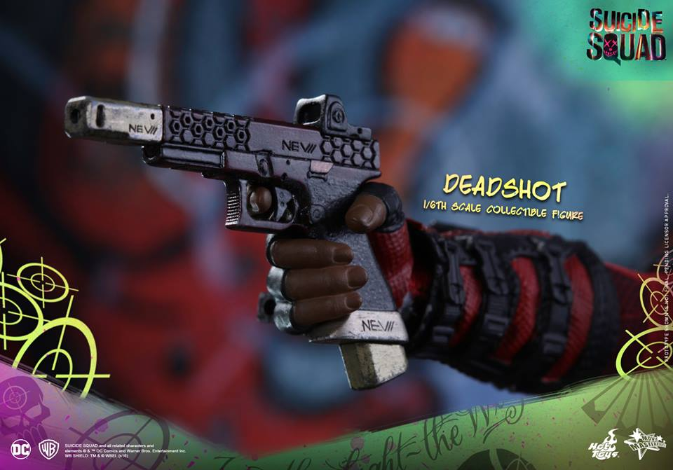 1//6 scale Hot Toys 1//6th Scale Suicide Squad Harley Quinn Pistol Ammo