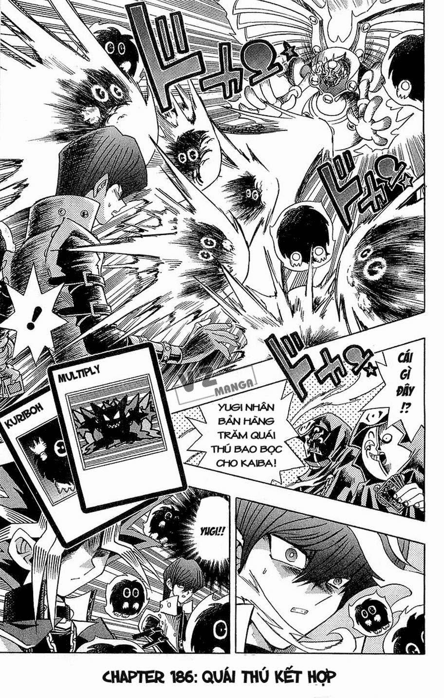 YUGI-OH! chap 186: quái thú kết hợp! trang 1