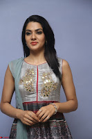 Sakshi Chaudhary Beautiful Emroidery Work Sleeveless Anarkali Dress 033.JPG