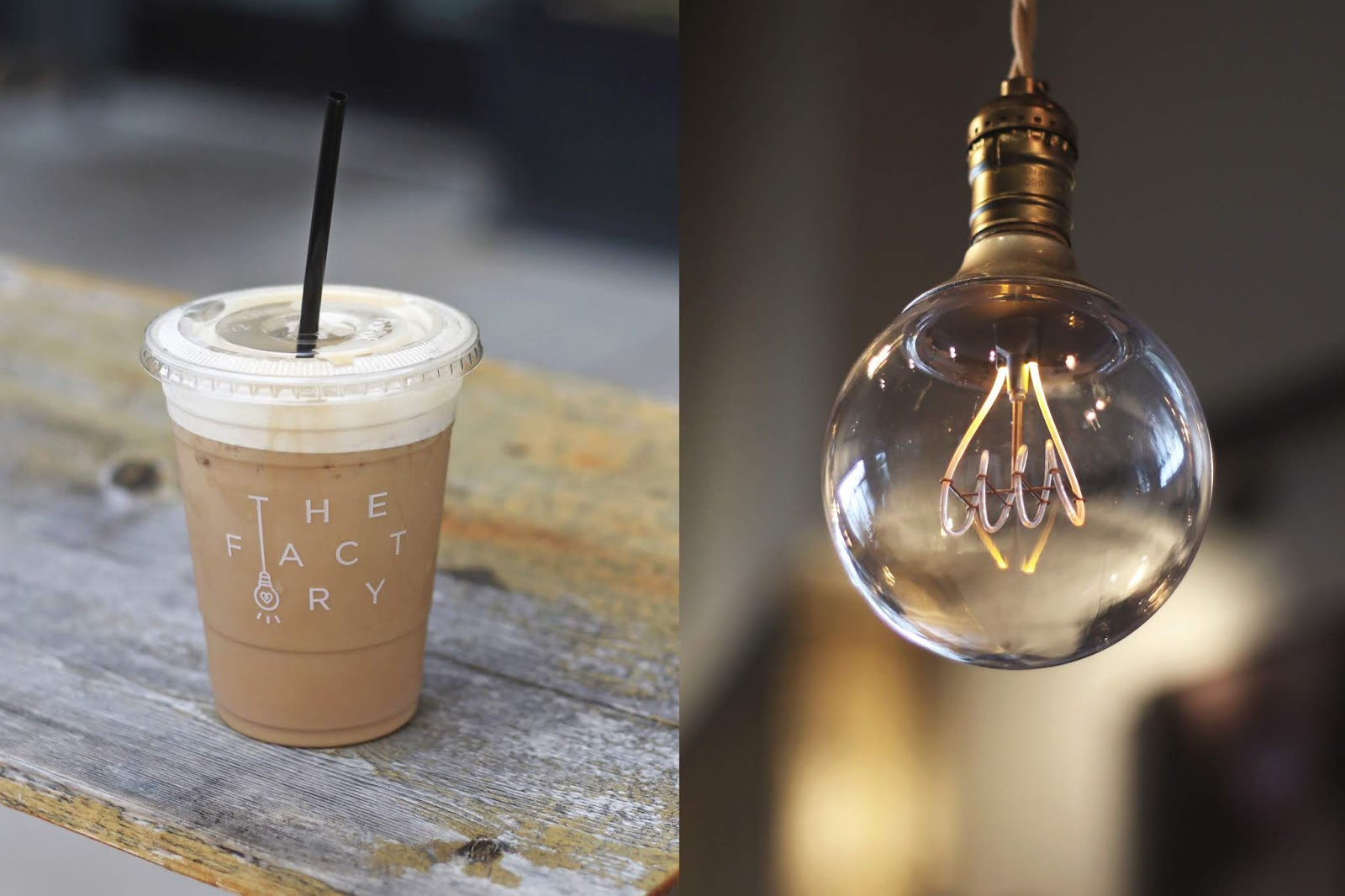 The Factory Wild Chix and Waffles Austin, Iced Coffee, Cozy Coffee Shop, Coffee Shops Vibe