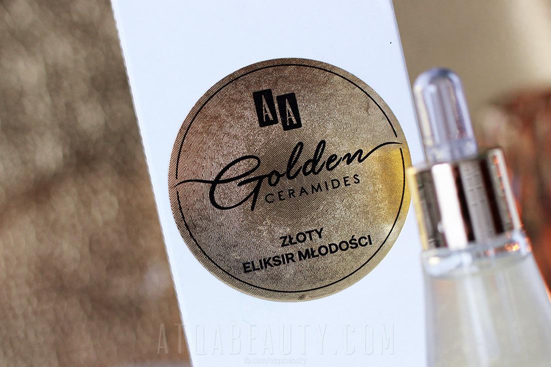 AA Golden Ceramides Złoty eliksir młodości