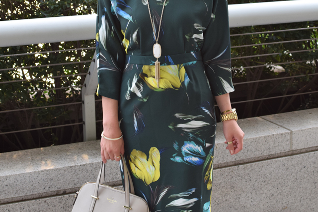 A Day In The Lalz; Tulip Dress; ASOS; Fashion; Modesty; Fashion Blog; Hijab; Kendra Scott; Kate Spade