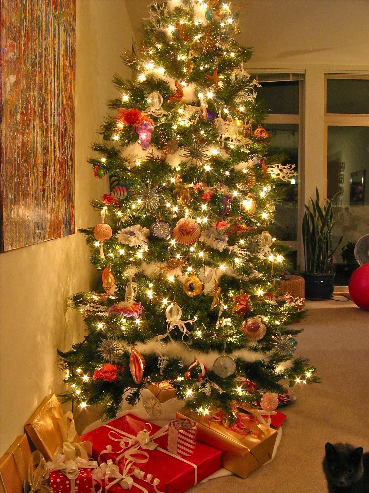 Blukatkraft Under The Sea Ocean Themed Christmas Tree