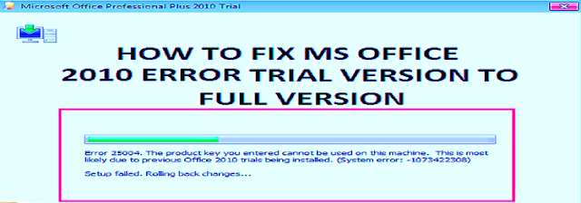 How to Fix Microsoft Office 2010 Unlicensed Product Error?