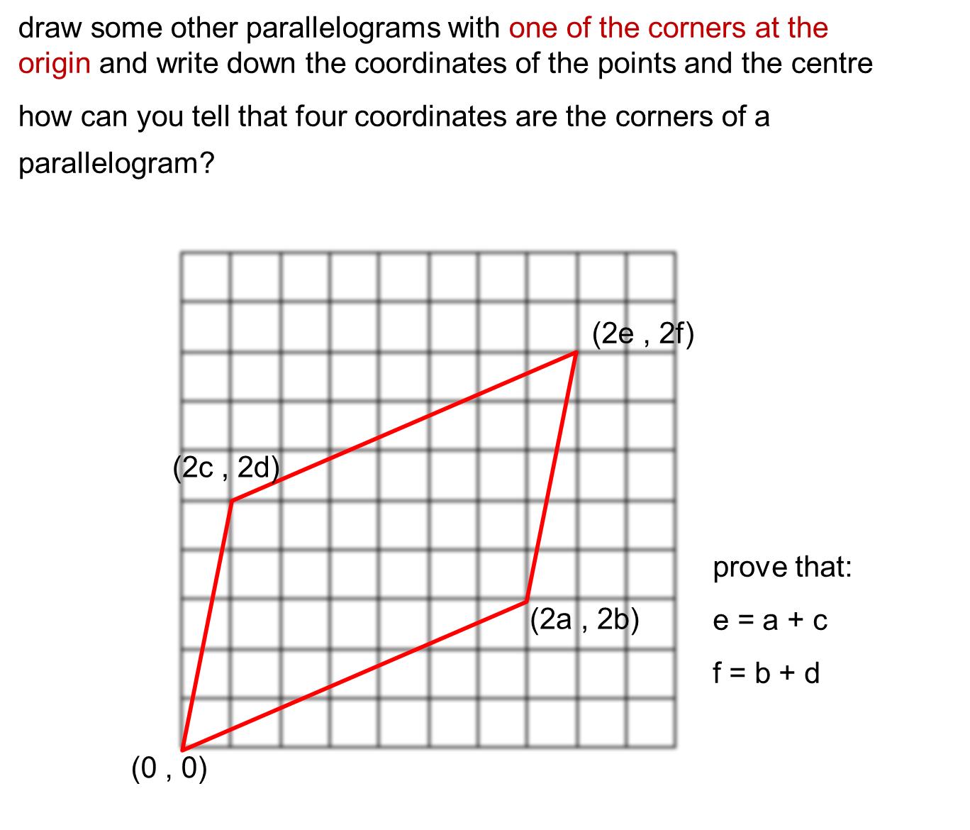 MEDIAN Don Steward mathematics teaching: coordinates of