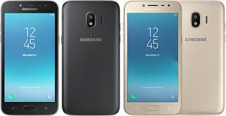 Samsung Galaxy J2 Pro (2018) Hitam dan Emas