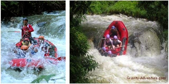 Wisata Arung Jeram di Sungai Palayangan