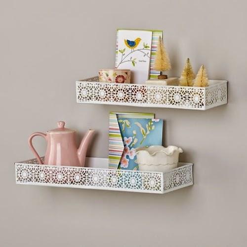 Chantilly Wall Shelves
