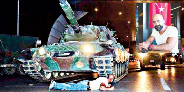 ميتين دوغان واجه جنود الانقلاب بصدرٍ عارٍ