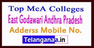 Top MCA Colleges in East Godawari Andhra Pradesh