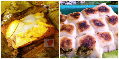 Cavite delicacies Tamales and Bibingkoy