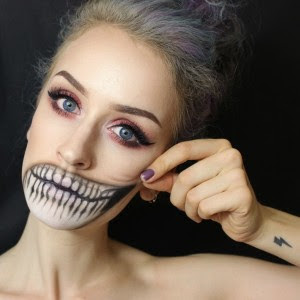 Scary Halloween Make Up Ideas For Teenage Girls 2016