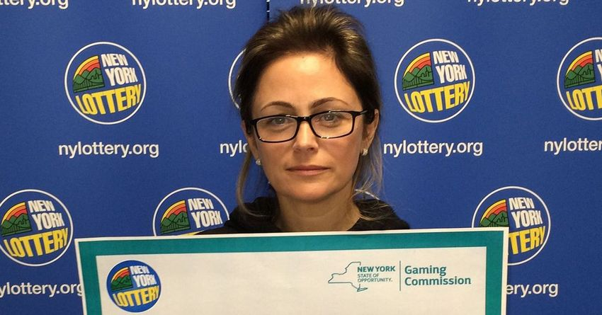 Oksana Zaharov WON 5 Million Dollar Lottery
