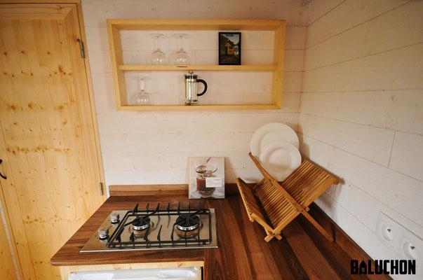 Escapade tiny house by Baluchon