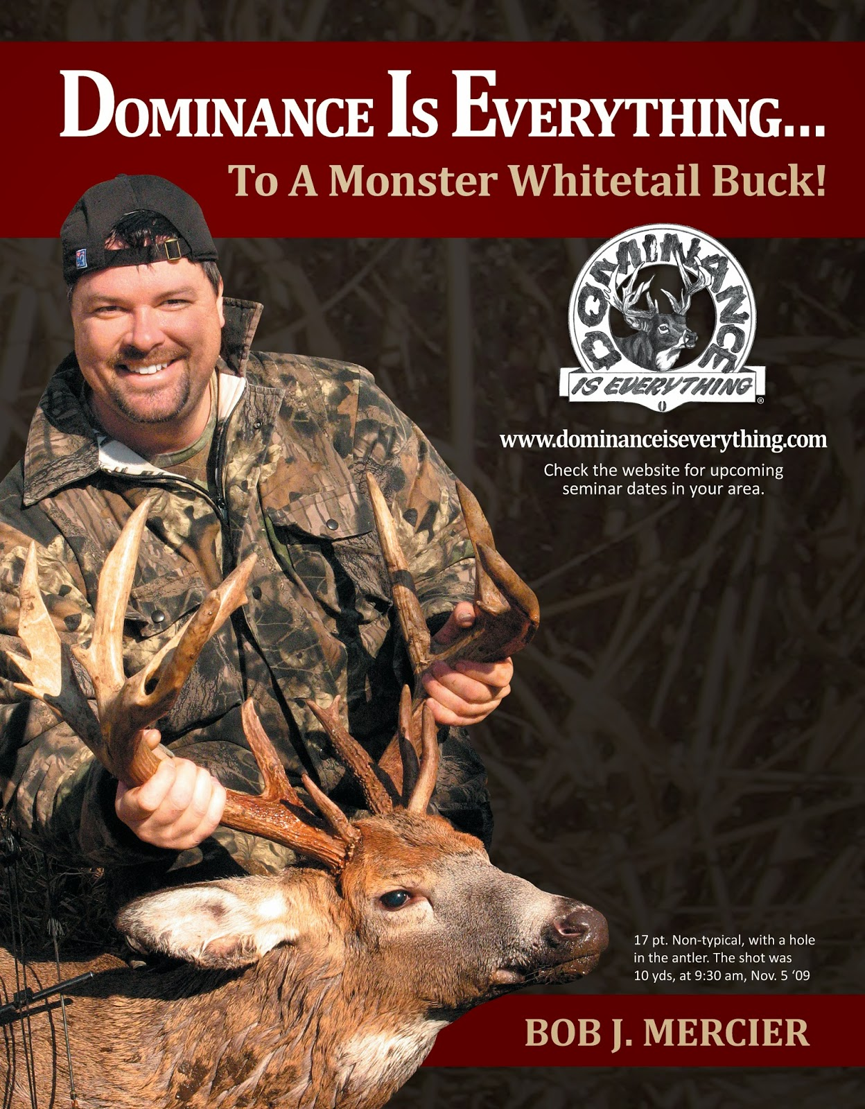 Learn about whitetail deer herds, and hunting kings