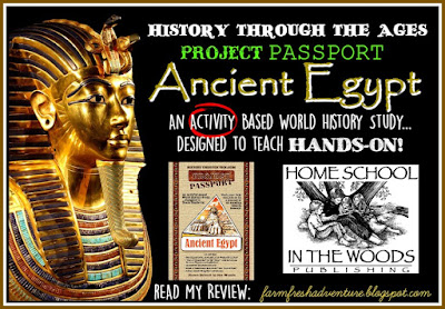 Bringing Ancient Egypt to Life with Homeschool in the Woods {a review}