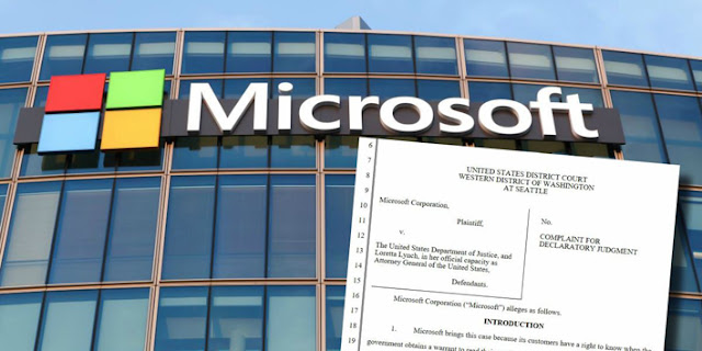Microsoft vs DoJ-Departamento de Justicia