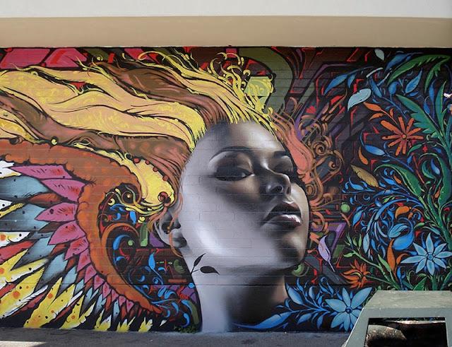 Реалистичные рисунки на стенах. El Mac 22