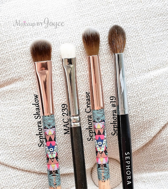 Sephora Mara Hoffman Crease Brush Review Dupe Sephora #19