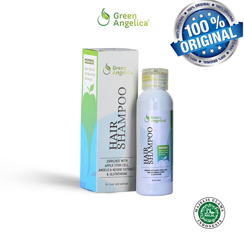 10 Obat Penumbuh Rambut Yang Paling Efektif Alkatel Hair Shampoo Green Angelica Juga Menjadi Produk Halal Karena Telah Memiliki Sertifikasi Dari Majelis Ulama Indonesia