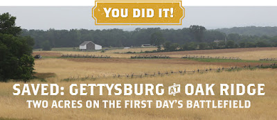 Saved: Gettysburg at Oak Ridge