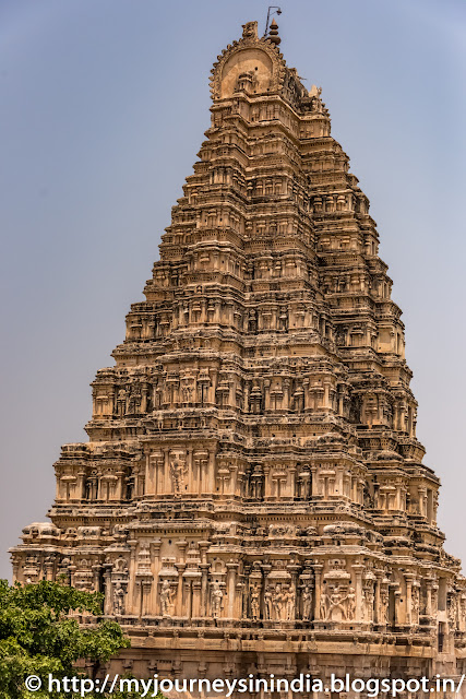 Hampi Virupaksha Temple Tower