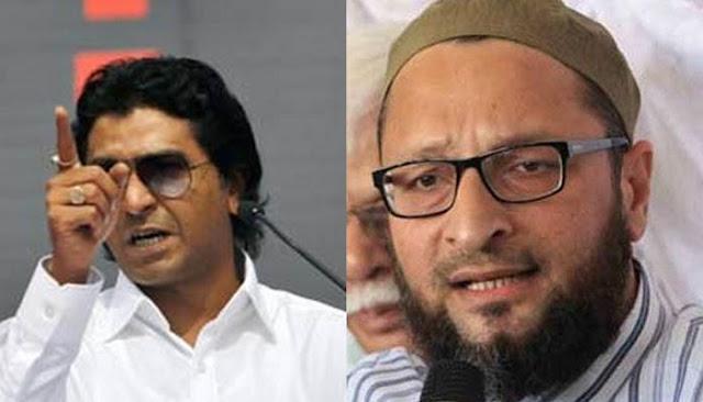 Raj Thackeray and owaisi
