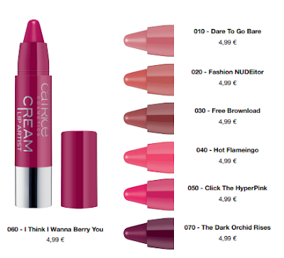 Catrice Cream Lip Artist