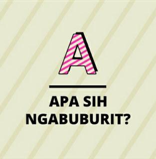 Makna kata ngabuburit, arti dari ngabuburit, apa arti Ngabuburit, pengertian dari Ngabuburit